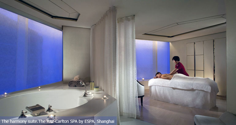 The harmony suite.The Ritz-Carlton SPA by ESPA. Shanghai